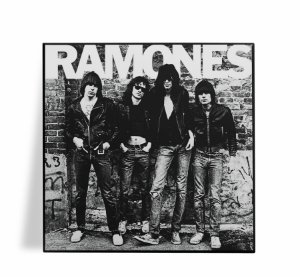 Azulejo Decorativo Ramones 15x15