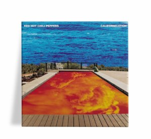 Azulejo Decorativo Red Hot Chili Peppers Californication 15c