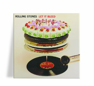 Azulejo Decorativo The Rolling Stones Let It Bleed 15x15