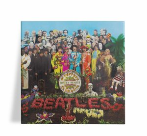 Azulejo Decorativo The Beatles Sargent Peppers 15x15