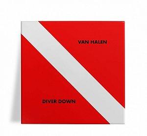 Azulejo Decorativo Van Halen Diver Down 15x15