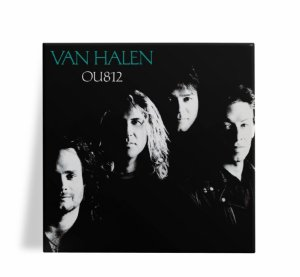 Azulejo Decorativo Van Halen OU812 15x15