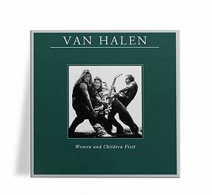 Azulejo Decorativo Van Halen Women and Children First 15x15