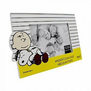 Porta Retrato Snoopy Motivacional 22x23 cm