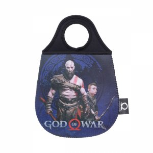 Lixeira de Carro God of War Kratos e Atreus