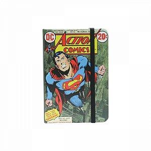 Caderneta de Anotação Superman DC A6 9,5X14CM 100FLS