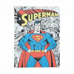 Quadro Tela Superman DC 30X1,5X40cm