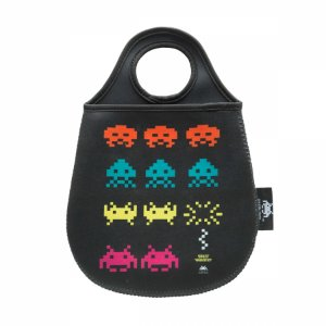 Lixeira de Carro Space Invaders