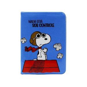 Kit Viagem Tag e Passaporte Sob Controle Snoopy