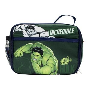 Lancheira Térmica Hulk Marvel 2 Bolsos