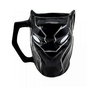 Caneca formato 3D Pantera Negra Marvel 450 ml