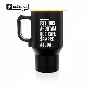 Caneca Térmica Elétrica Frases 380ml