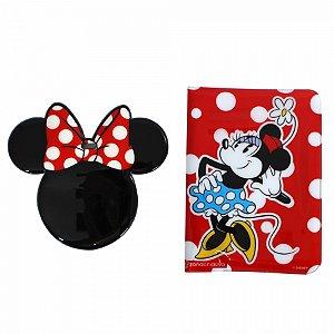 Kit Viagem Tag e Passaporte Minnie
