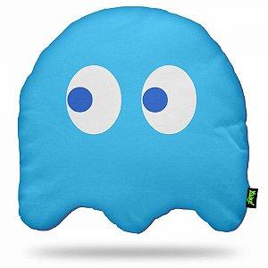 Almofada Pac man Ghost - azul