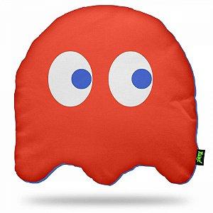 Almofada Pac man Ghost - Vermelha