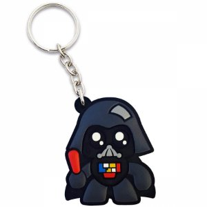 Chaveiro borracha Star Wars Darth Vader