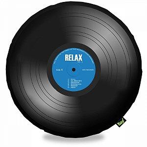 Almofada Disco de Vinil LP - Relax