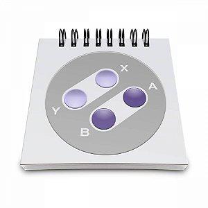 Bloco de Anotações Joystick 16 bits