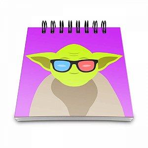 Bloco de Anotações Geek Side Mestre Yoda