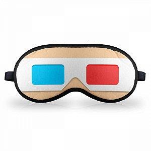 Máscara de Dormir - Óculos 3D