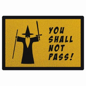 Capacho You Shall Not Pass - 60 x 40