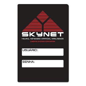 Placa Wifi Skynet - 25 x 16 cm