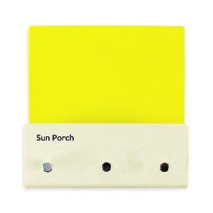Porta Chaves e Correspondência Color Sun Porch
