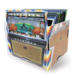 Porta Disco Vinil Jukebox