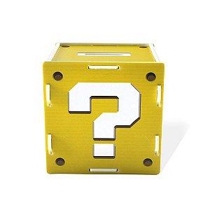 Cofre Interrogação Mario Bros