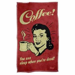 Pano Multiuso em Microfibra Coffee You can sleep when you