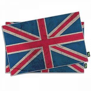 Jogo Americano Bandeira do Reino Unido  - 2 peças