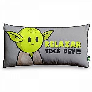 Almofada Mestre Yoda Pequena