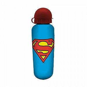 Squeeze aluminio DC Superman logo azul 500 ml
