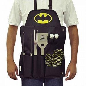 Set c7 pcs churrasco algodaometal DC Batman logo amerelop