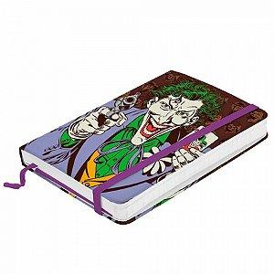 Caderneta de anotação Papel DC Joker C baralho fd A6