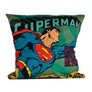 Capa de almofada poliester DCO SUPERMAN FLYING 45 X 45 CM