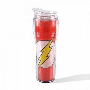 Copo Térmico Plástico Silhueta The Flash