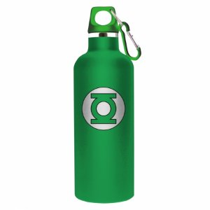 Garrafa aluminio DC Green Light logo