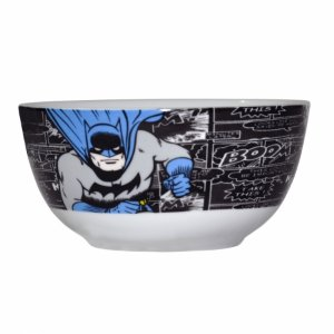 Set 2 pcs bowl porcelana DC Batman attacking position