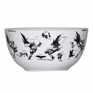 Set 2 pcs bowl porcelana DC Sketchart pb
