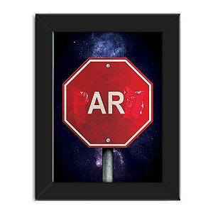 Poster com Moldura AR