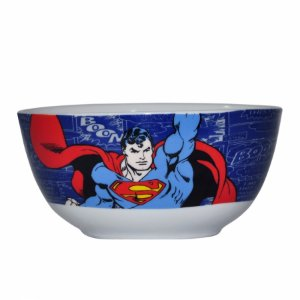 Set 2 pcs bowl porcelana DC Superman