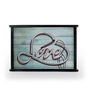 Luminária MDF Love