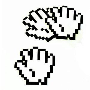 Porta Copos Mão 8 Bit