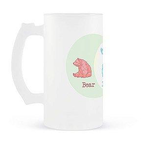 Caneca de Chopp Bear, Beer, Deer