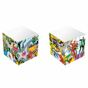 Bloco de Anotações Cubo DC Justice League Big Fight