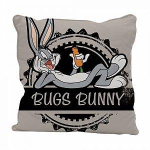 Capa almofada poliester looney bugs bunny happy