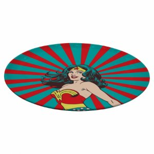 Prato Giratorio Melamine Dc Wonder Woman Rising Sun