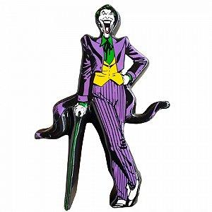 Cofre ceramica dc joker character roxo 17,5 x 5 x 25 cm