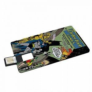 Pen drive flat plastico dc detective comics batman